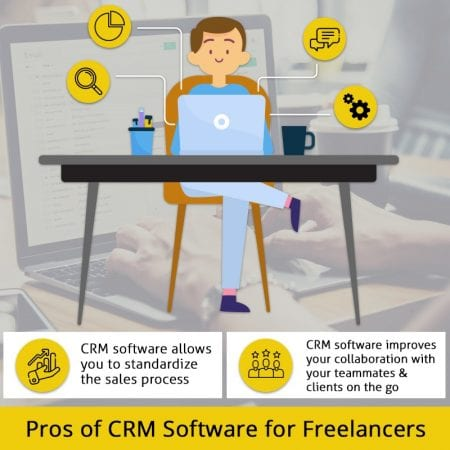 Pros Of CRM Software For Freelancers