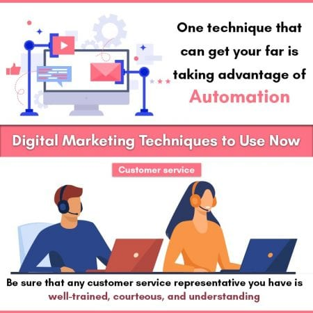 Digital Marketing Techniques To Use Now