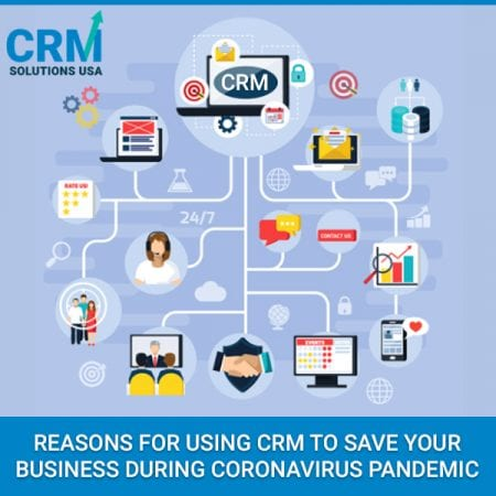Reasons For Using CRM To Save Your Business During Coronavirus Pandemic